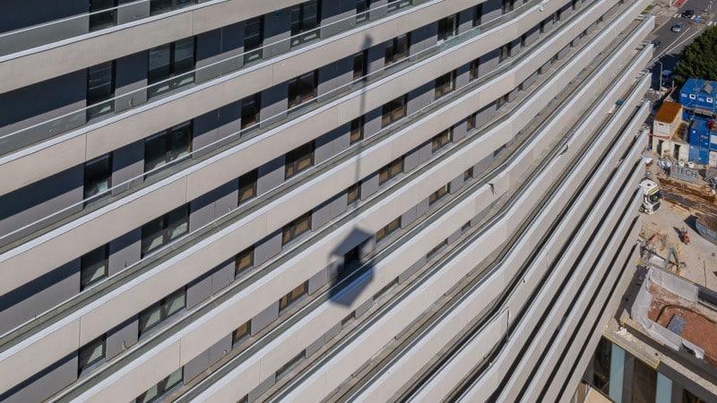 Außenfassade des Bruckner Towers © Gregor Hartl