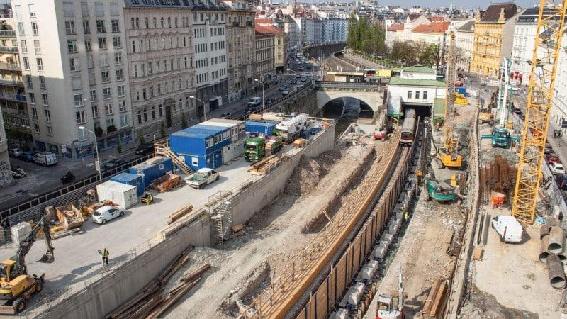 U4 Pilgramgasse - U-Bahn Wien