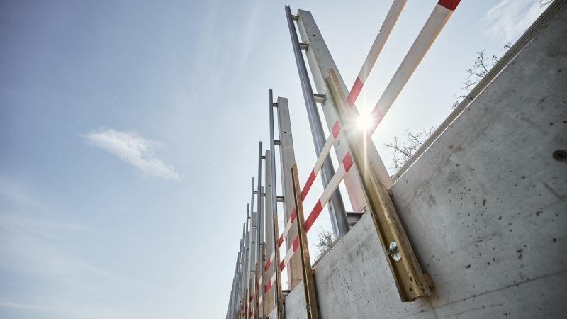 Höchste Lärmschutzwand Österreichs