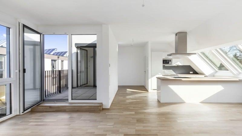 Ansicht einer Wohnung | Wohnhausanlage Leo19 © IMMODIENST Projekt Epsilon GmbH