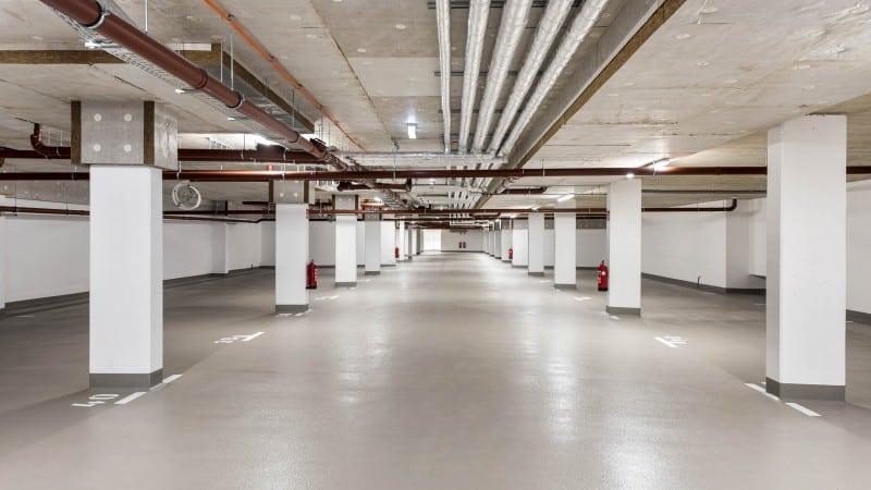 Tiefgarage | Wohnhausanlage Leo19 © IMMODIENST Projekt Epsilon GmbH